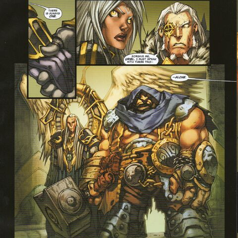 Ulthan - Darksiders Comic