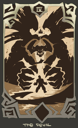 Darksiders - devil card
