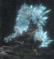 Ravenous Crystal Lizard