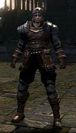 Warrior set male