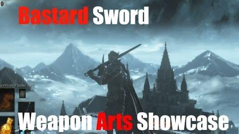 Dark Souls 3 Bastard Sword Weapon Arts Showcase