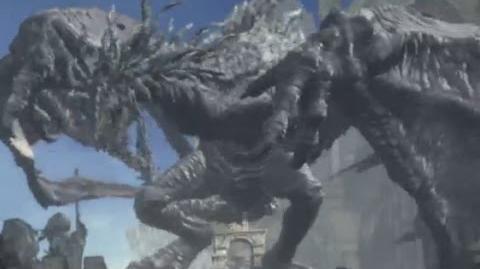 Dark Souls 3 ANCIENT WYVERN Boss Fight