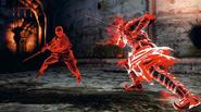Red phantom battle