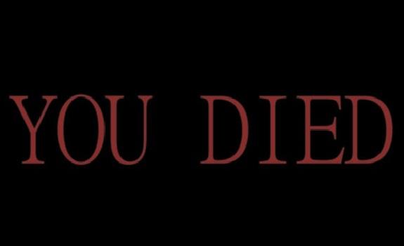 Resultado de imagen de you died dark souls