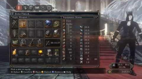 Dark Souls II - Bone Fist Moveset (Old Ivory King DLC)