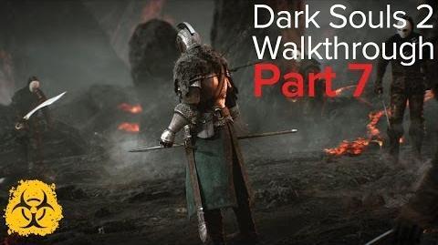 Dark Souls 2 Walkthrough Part 07 - No Man's Wharf - Bosses - Flexile Sentry