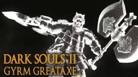 Dark Souls 2 Gyrm Greataxe Tutorial (dual wielding w power stance)-0