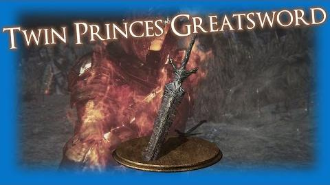 Twin Princes' Greatsword - 01