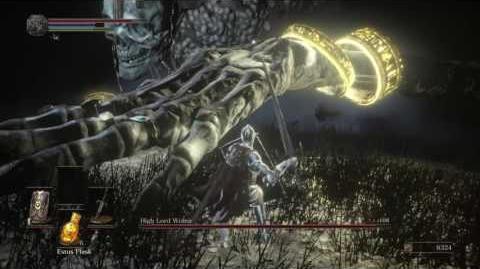 DARK SOULS III High Lord Wolnir boss fight