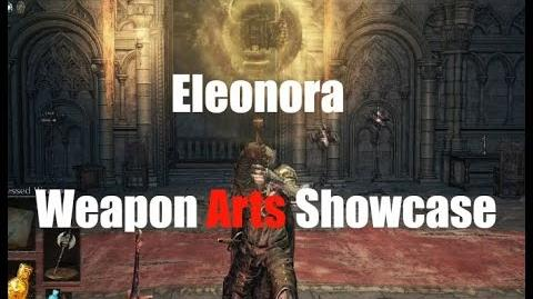 Dark Souls 3 Eleonora - Weapon Arts Showcase