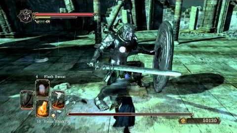 Dark Souls 2 - Looking Glass Knight (Melee)