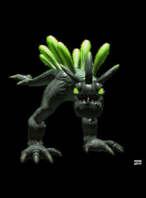 Emerald Toxiraptor