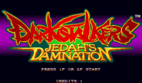 DarkStalkers Hack Title Screen 0