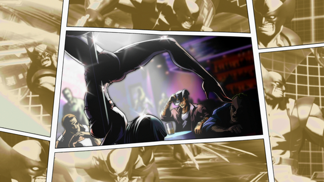 File:Morrigan in Wolverines MVC3 Ending 01.png