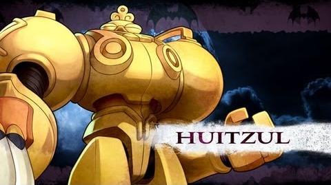 Darkstalkers Resurrection - Huitzil Moves List