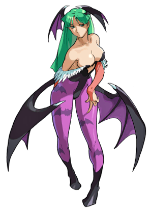 File:Marvel vs Capcom Morrigan Art.png