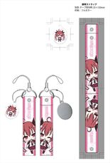 Date A Live II cleaner with smartphone strap wide Kotori