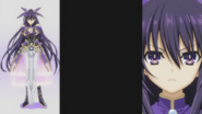 Tohka in the 1st ending