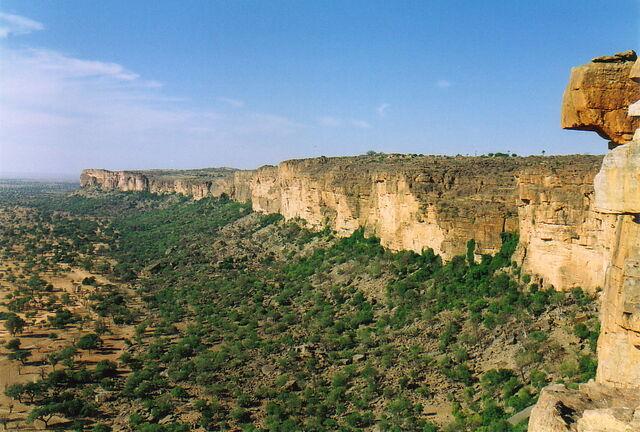 File:Dogon Country, Mali - Bandiagara Escarpment.jpg