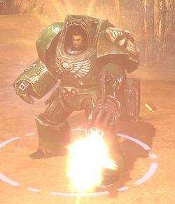 Terminator Armour Assault Cannon image