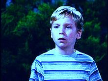 Tanner Maguire as the younger Shawn Brady.