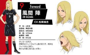 Days-Character-Visual-Jin-Kazama-001-20160223