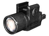Pistol flashlight