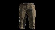 Beige Slacks Pants Model (R)
