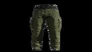 Green Cargo Pants Model (P-W)