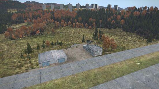 Balota airstrip aerial