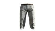 White Slacks Pants Model (R)