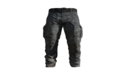 Grey Cargo Pants Model (D-BD)