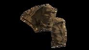 Leather Pants Beige (D-BD)