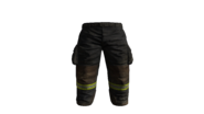 Black Fire-fighters Pants Model (P-W)