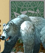 Raging Wild Brown Bear