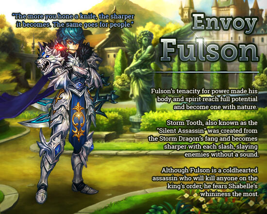 Envoy Fulson release poster