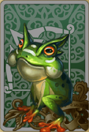 Forest Frog Toto