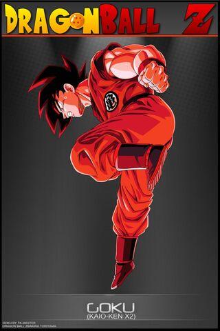 File:Dragon Ball Z Goku Kaio Ken X2 by tekilazo.jpg
