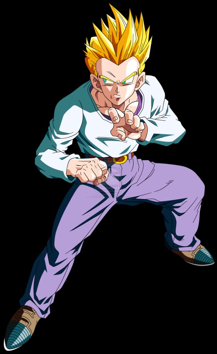 Goten anime dragon ball power levels wiki fandom - Sangoten super sayen 3 ...