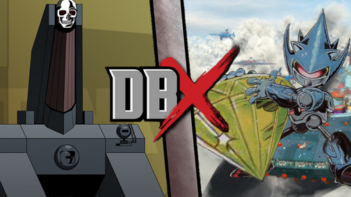 DBx SEASON I Blitztank vs Mecha Sonic