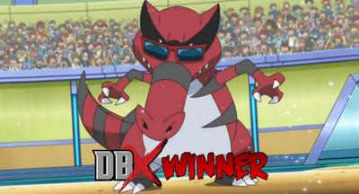 Krookodile Winner