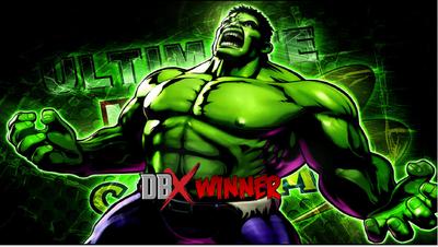 Hulk wins dbx