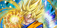 Convulsing Rage Super Saiyan Goku