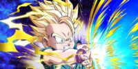 Spark in a Fierce Fight Super Saiyan Trunks (Kid)