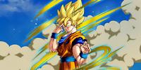 The Last Instant Transmission Super Saiyan Goku