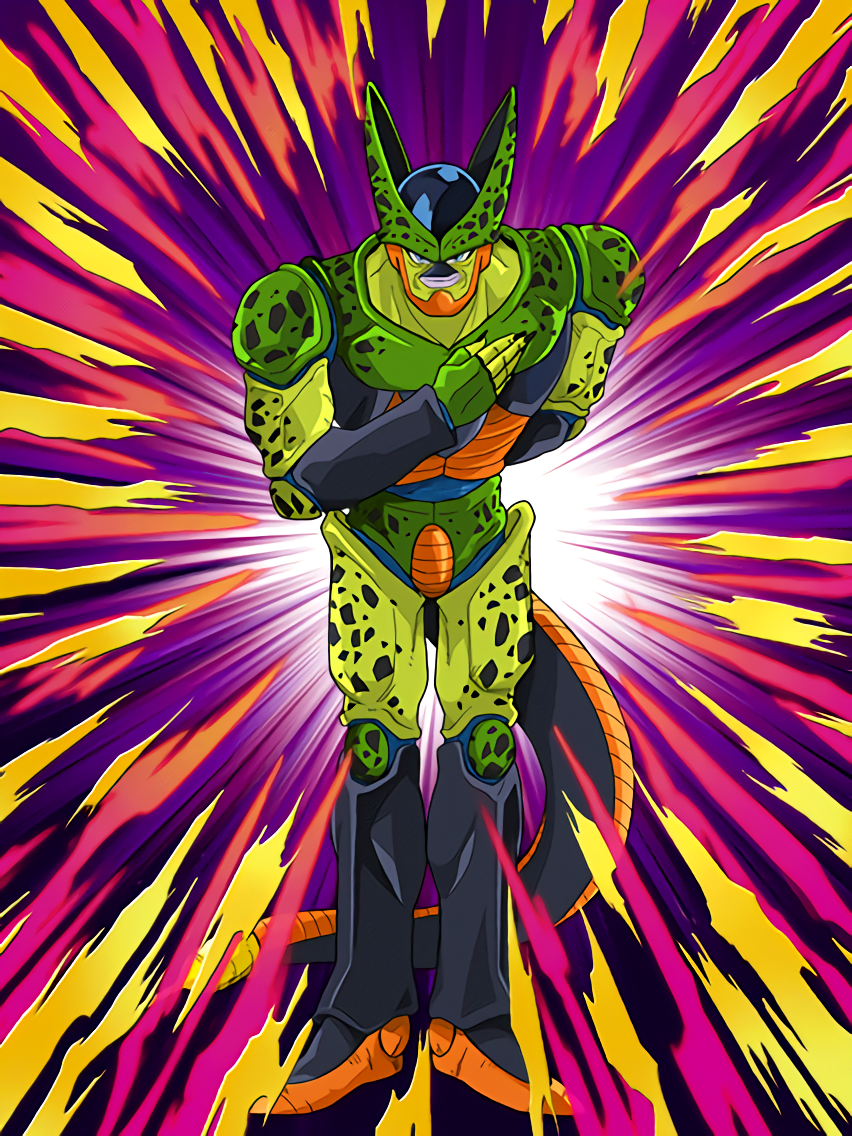 Image - SR Cell Semi-Perfect Form STR HD.png | Dragon Ball Z ...