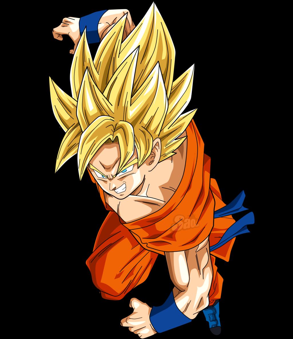 Image  Goku ssj power by saodvdd9sehjmpng  Dragon Ball Z