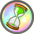 Hour glass medal