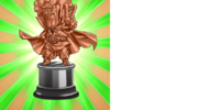 Worth 250,000 Zeni Hercule Statue (Bronze)