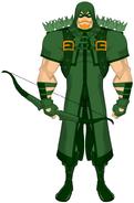 Mydcu green arrow by bsdigitalq-d4hkdck